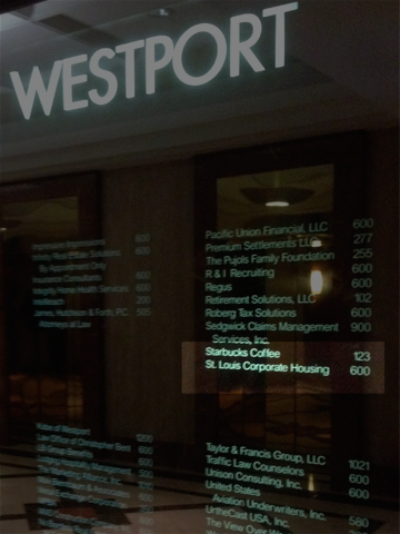 Contact St Louis Corporate Housing