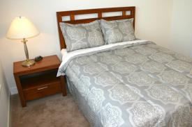 Standard Master Queen Bed - extended stay furnished housing west county