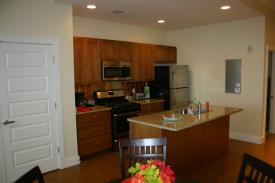Corporate Apartments St. Louis - The Laurel - Kitchen Area