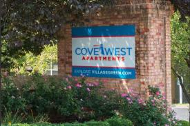 Cove West - Entrance - St. Louis Corporate Housing (Photo provided)