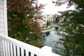Corporate Housing St. Louis, Green Mount Lakes, Deck View, St. Louis Corporate Housing Photo