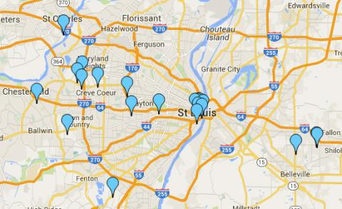 Corporate Housing St. Louis Locations